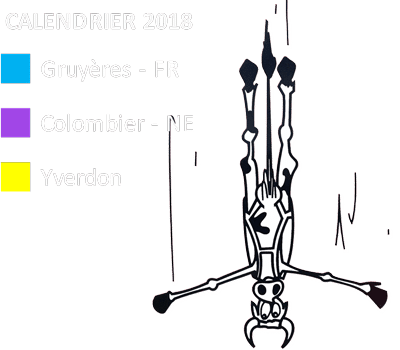 Legende Calendrier 2018