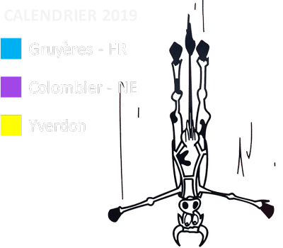 Legende Calendrier 2019